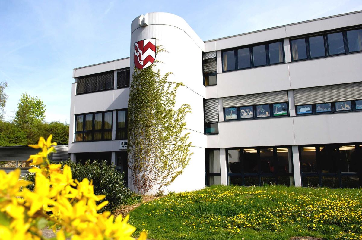 Ansicht des Bürgerhauses in Fischbach