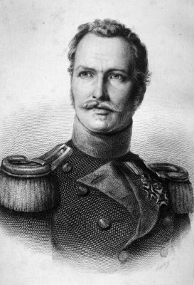 Portrait von Friedrich von Gagern