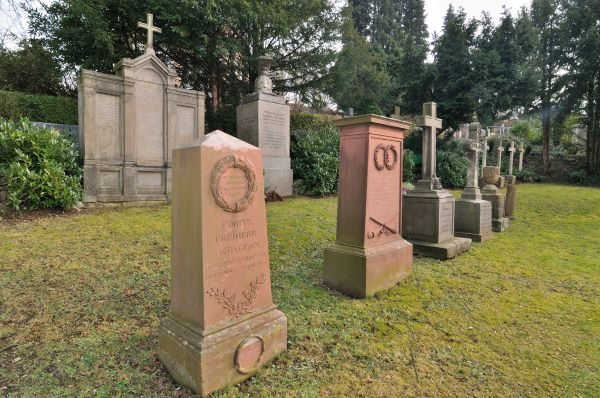 Friedhofsgräber der Familie Gagern