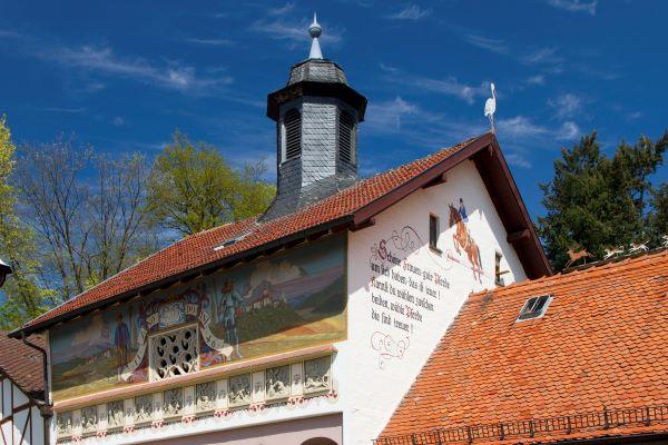 Foto des Giebels des Hofguts Rettershof