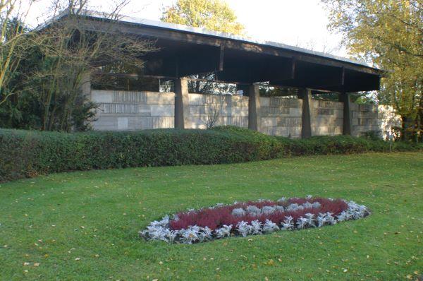 Trauerhalle am Hauptfriedhof