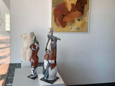 Impression der Kunstausstellung im Kunstraum